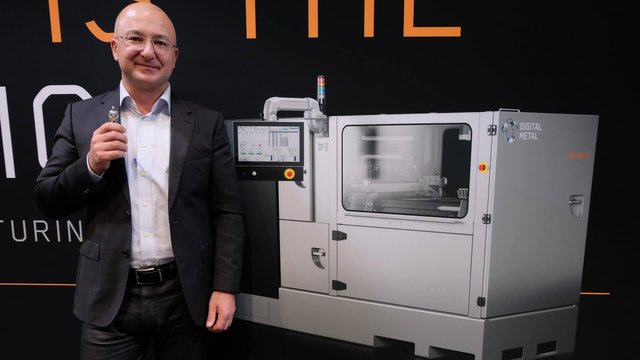 Featured image of Interview With Digital Metal: One Giant Leap For Small Metal 3D Printed Parts
