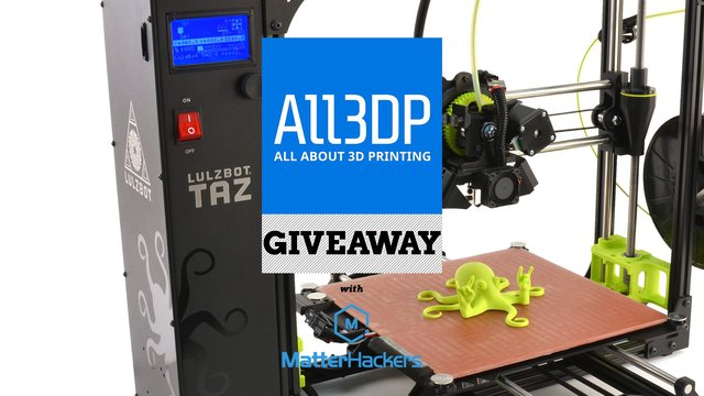 Featured image of Win a Lulzbot Taz 6 Worth $2,500!