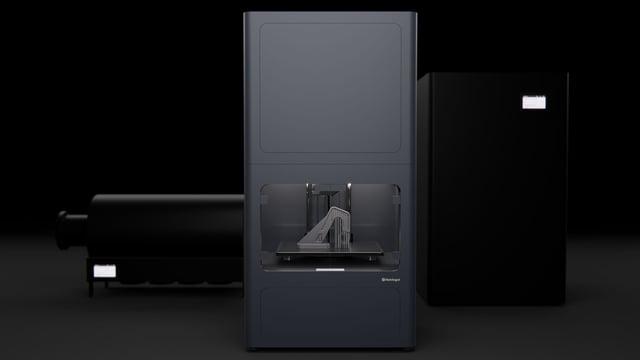 Image de l'en-tête de Markforged Metal X – Zoom sur l'imprimante 3D métal