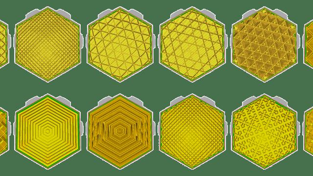 Image de l'en-tête de Infill (Cura) : les meilleurs remplissages pour l'impression 3D