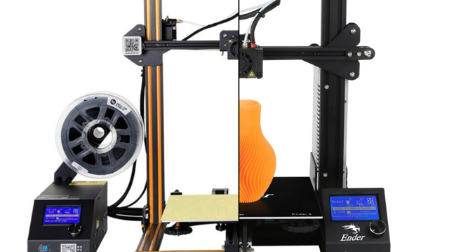 Featured image of Creality Ender 3 vs CR-10: The Differences