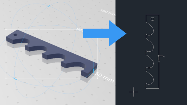 Featured image of STL to DXF: How to Convert STL Files to DXF (AutoCAD)
