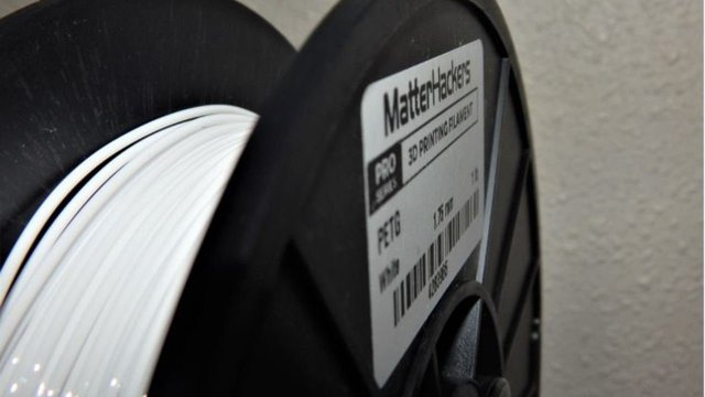 Featured image of MatterHackers Pro PETG Filament Review