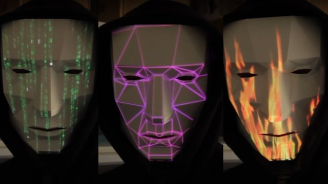Featured image of 3D Printed Laser Projection Mask Lets You Be Anything