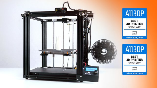 Featured image of Creality Ender 5 Test: Toller 3D-Drucker unter 500 €