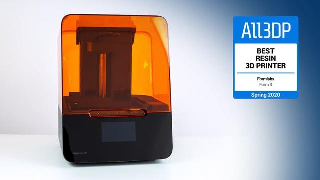 Image de l'en-tête de Formlabs Form 3 : meilleure imprimante 3D résine 2020