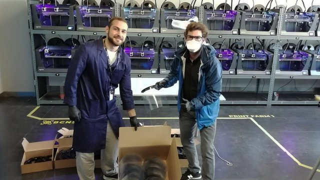 Featured image of Pandemic Response Sparks New Interest in Pro 3D Printing