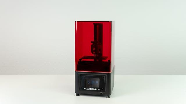 Image de l'en-tête de Test de l'ElegooMars2 Pro: l'imprimante suit la cadence