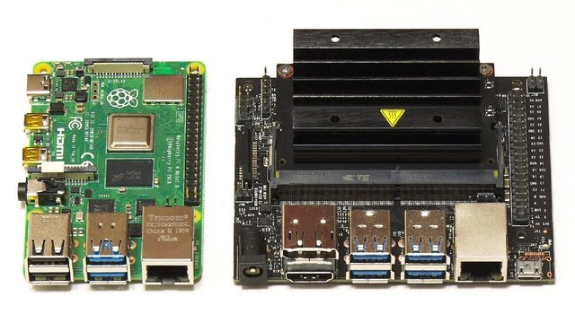 Featured image of Jetson Nano vs Raspberry Pi 4: The Differences