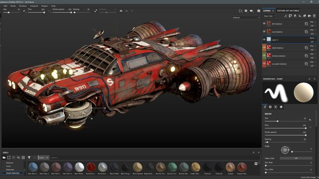 Featured image of Substance Painter vs Designer (2021): The Differences