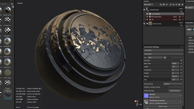 Featured image of Free Substance Painter Materials: Best Sites in 2021