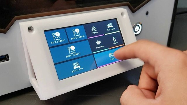 Featured image of OctoPrint Touchscreen: How to Add It to Your Printer
