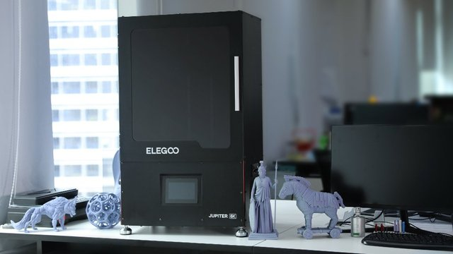 Featured image of Elegoo Jupiter: New Large-Scale LCD 3D Printer Available on Kickstarter