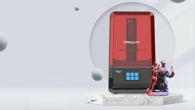 Featured image of Creality Reveals Newest Addition to HALOT LCD 3D Printer Series
