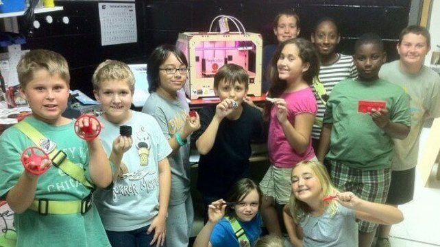 Featured image of 3D Printing in schools