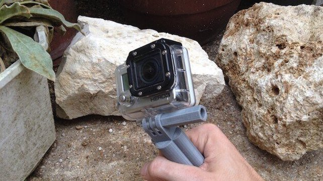 Featured image of 3D Printed GoPro Handle v2