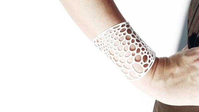 Featured image of 3D Printed Voronoi Bracelet V1