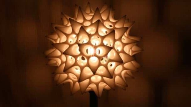 Featured image of Radiolarian Lamp Design Inspired by Plankton