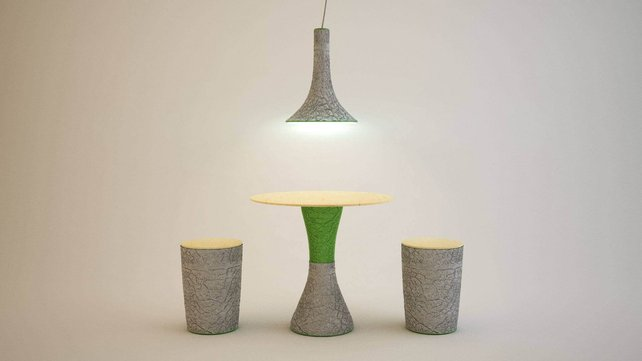 Featured image of Project eggform shows off naturally 3D printed furniture