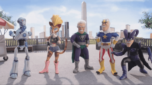Featured image of Animated Comedy SuperMansion is Made With 3D Printing