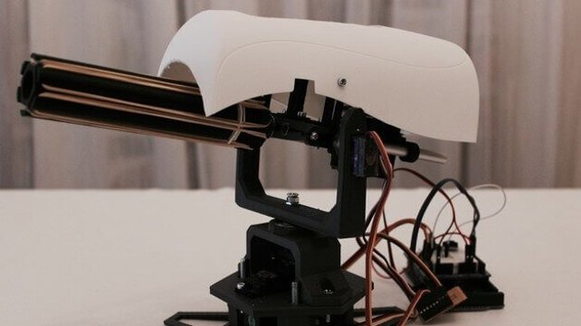Featured image of Swiss Student 3D Prints Automatic Rubber Band Sentry Gun