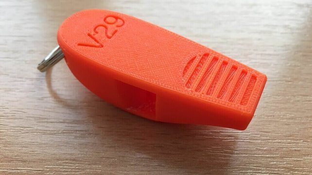 Featured image of 3D Printed Whistle is Louder than Human Pain Threshold