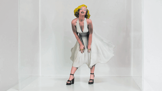 Featured image of 3D Printed Sculptures Bring Classic Portraits to Life