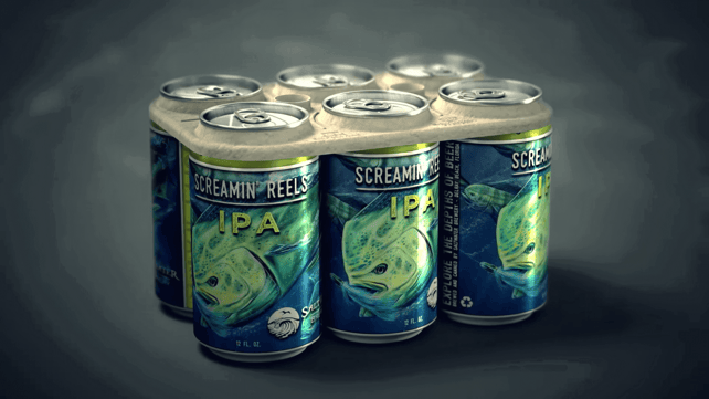 Featured image of 3D Printed Edible Six Pack Rings can Feed Wildlife