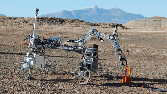 Featured image of Exploring Mars with a 3D printed Planetary Rover