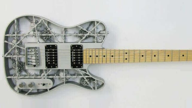Featured image of This is the World's First 3D Printed Aluminum Guitar