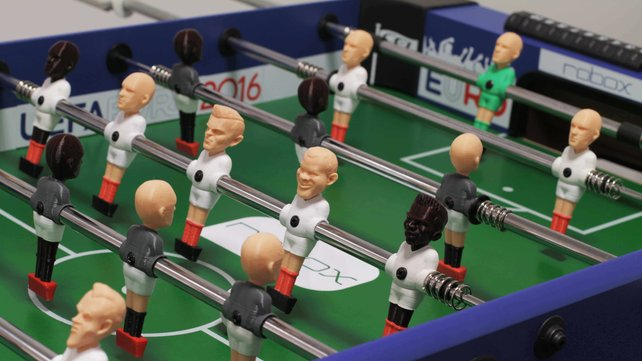 Featured image of 3D Printed Foosball: Lead England to Euro 2016 Glory