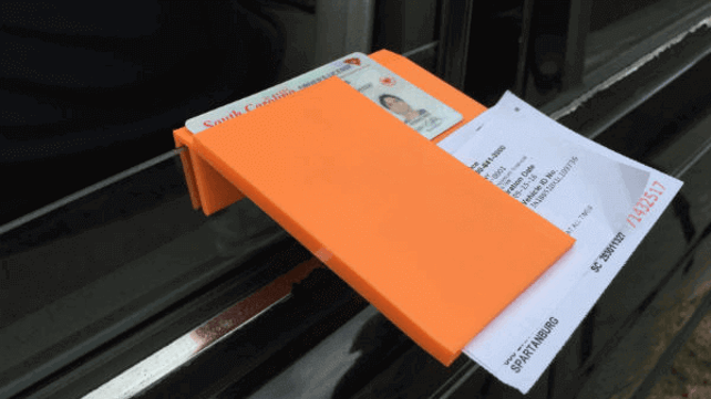 Featured image of 3D Printed Sleeve Can Help Officers and Drivers During Traffic Stops