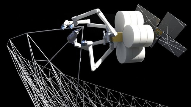 Featured image of SpiderFab: 3D Printing Robots Construct Structures in Space