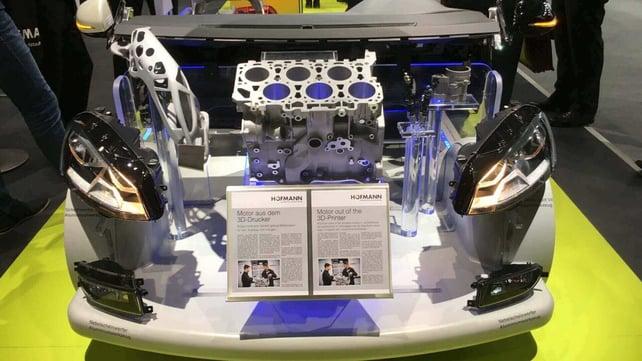 Featured image of German Prototyper 3D Prints Motor Block From Aluminum