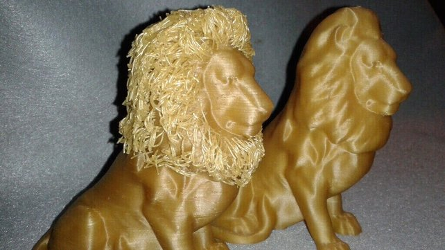 Featured image of Mane of the Hairy Lion is the Pride of 3D Printing