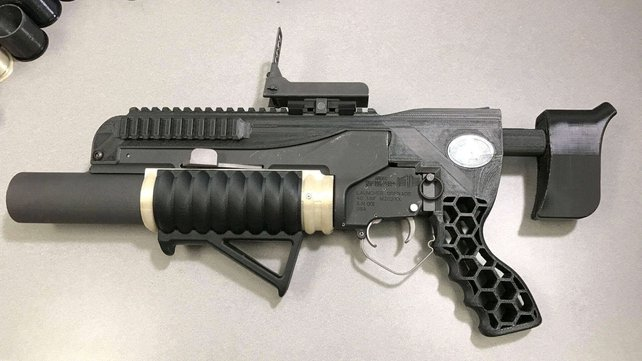 Featured image of R.A.M.B.O. is a 3D Printed Grenade Launcher Made by U.S. Army