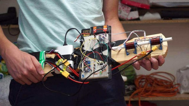 Featured image of How to Make a Coilgun Using an Arduino Nano and 3D Printing