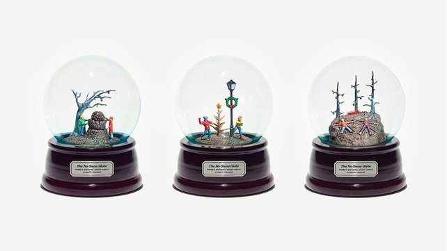"Featured image of Climate Change Activists Create 3D Printed ""No-Snow-Globes"""