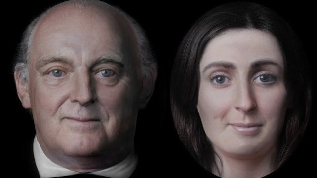Featured image of Researchers 3D Reconstruct Face Of Famous Irish Writer Jonathan Swift And His Muse Johnson