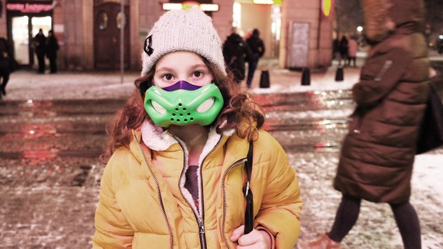 Featured image of Sinterit Lisa Printed Masks Helps Protect Kids from Pollution