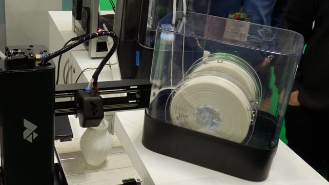 Featured image of 3D Printing Project: $20 DIY Heated Dry Box for Filament Storage