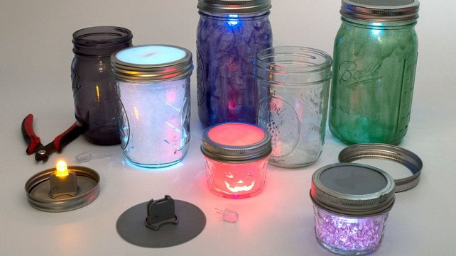 Featured image of [Project] Create Your Own 3D Printed LED Mason Jar Lanterns