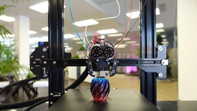 Imagen principal de M3D lanza la impresora 3D multicolor Crane Quad