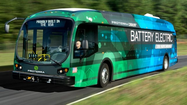 Featured image of Proterra Partners With Carbon to 3D Print Emission-Friendly Bus Fleet