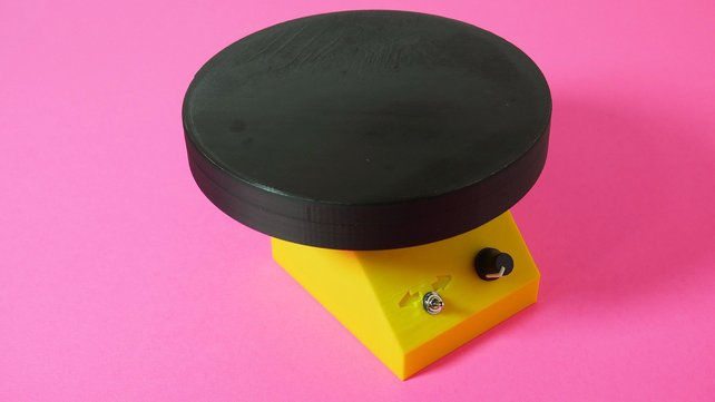 Featured image of [Project] 3D Printed Motorized Turntable for Photo & Video