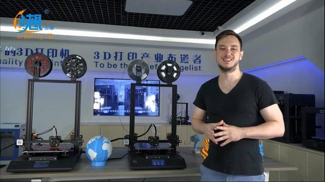 Imagen principal de Creality CR-X: ¡la impresora 3D de doble extrusión revelada!