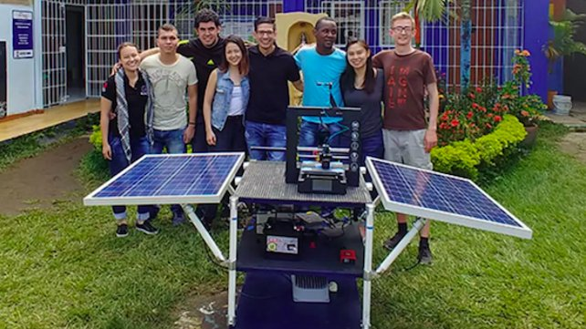Featured image of Students Develop 3D Printer Power System for Impoverished Colombian Communities