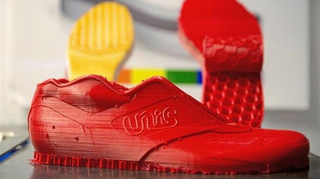 Image de l'en-tête de Un étudiant crée des baskets personnalisables imprimées en 3D