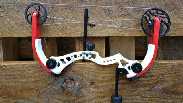 Featured image of [Project] Take Aim With a 3D Printed Miniature Compound Bow