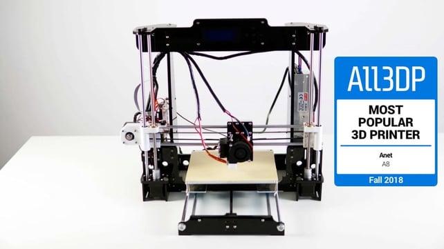Featured image of Anet A8 im Test: Der beliebteste 3D-Drucker 2018